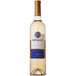 вино бяло Менада шардоне 750мл
