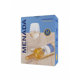 вино бяло Менада шардоне 3л