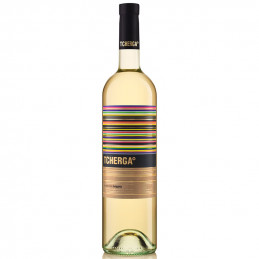 вино бяло Черга 750мл