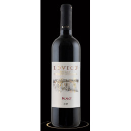 вино червено Ловико мерло 3л