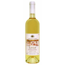 вино бяло Ловико шардоне 750мл