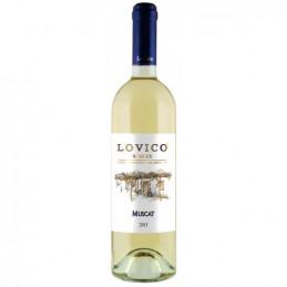 вино бяло Ловико мускат 750мл