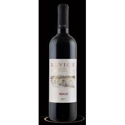 вино червено Ловико мерло...