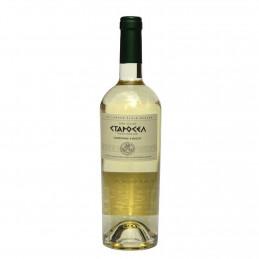 вино бяло Старосел шардоне...
