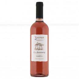 вино розе Загрей Св.Димитър...