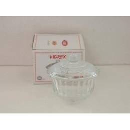 захарница стъклена Видрекс
