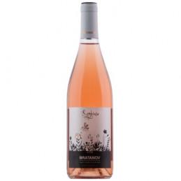 вино розе Bratanov Symbiose...