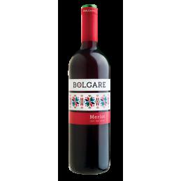 вино червено Болгаре мерло...