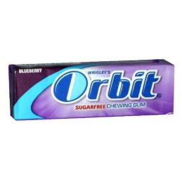 дъвки драже Orbit боровинка...