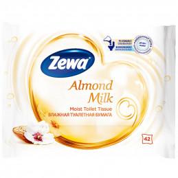 тоалетна хартия влажна Zewa...