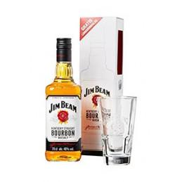 уиски Jim Beam 700мл + 1 чаша