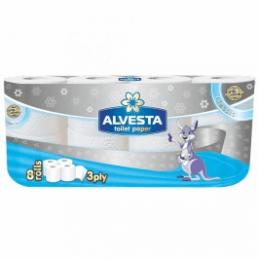 тоалетна хартия Alvesta...