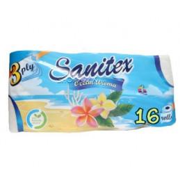 тоалетна хартия Sanitex...