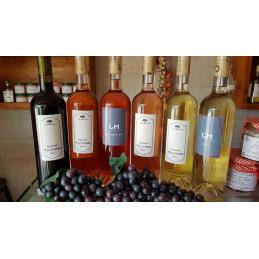 вино бяло Мусачево шардоне...