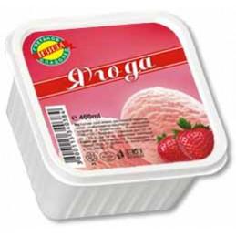 сладолед Изида ягода 400мл