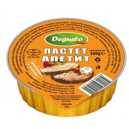 пастет Degusto апетит 100гр