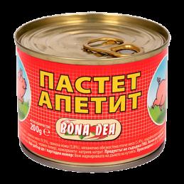 пастет Bona Dea апетит 200гр