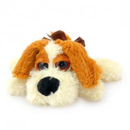 играчка плюш куче легнало 24см