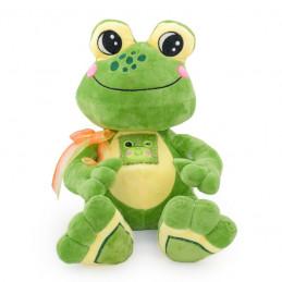 играчка плюш жаба усмихната...