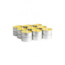 свещи чаени жълти 12бр в...
