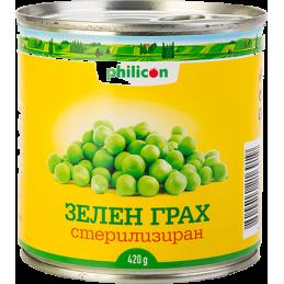 грах зелен Philicon 420гр