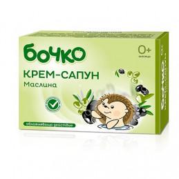 крем-сапун Бочко маслина 75гр