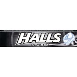 бонбони Halls extra strong...