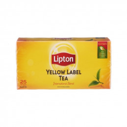 чай Lipton yellow label 25бр