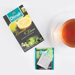 чай лимон и лайм Dilmah 20бр
