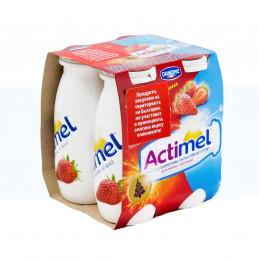 десерт Актимел ягода 4х100гр