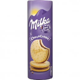 бисквити Milka шоко крем 260гр
