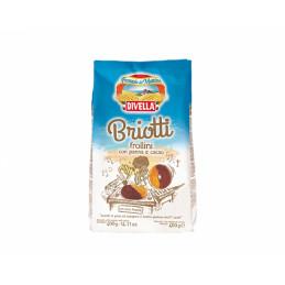 бисквити Briotti Divella 400гр