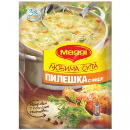 супа MAGGI Любима пилешка 50гр
