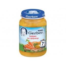 пюре Gerber зеленчуци с...
