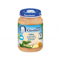 пюре Gerber картофи с риба...