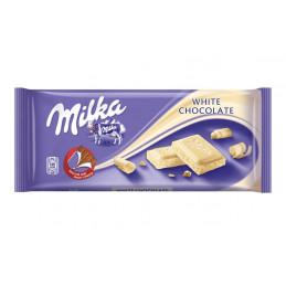 шоколад Milka бял 100гр