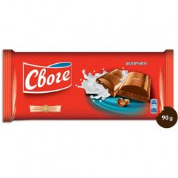 шоколад Своге млечен 90гр