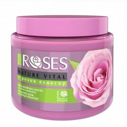 маска за коса Roses розов...
