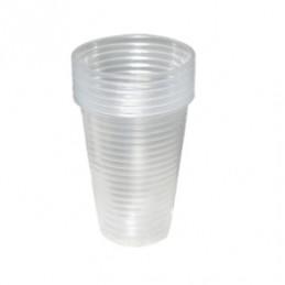 чаша пластмасова 200мл 40бр...