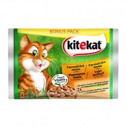 пауч за котка KiteKat микс...