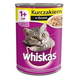 пауч за котка Whiskas птичи...