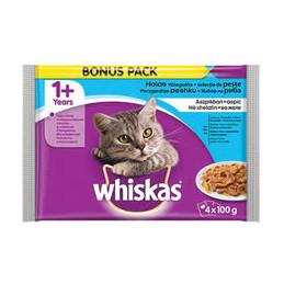 пауч за котка Whiskas рибни...