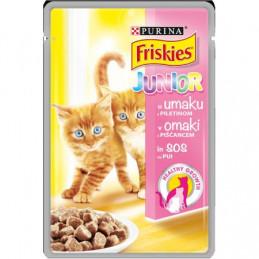 пауч за котка Friskies пиле...