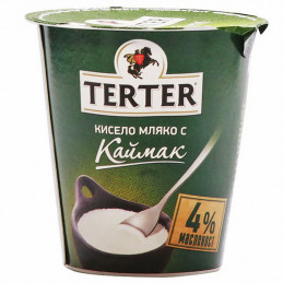 мляко кисело Terter 4.2- 400гр