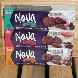 бисквити Nova с орех и...