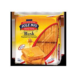 сухар ръжен Sole Mio 180гр