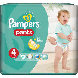 гащички Pampers CP S4 Maxi...