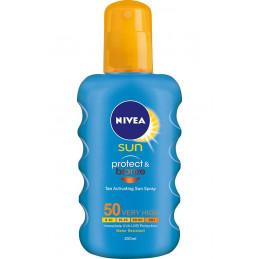 спрей Nivea Sun Protect -...