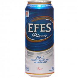 бира Efes Pilsener 5.0- кен...