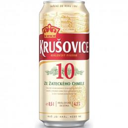 бира Крушовице 4.2- кен 500мл
